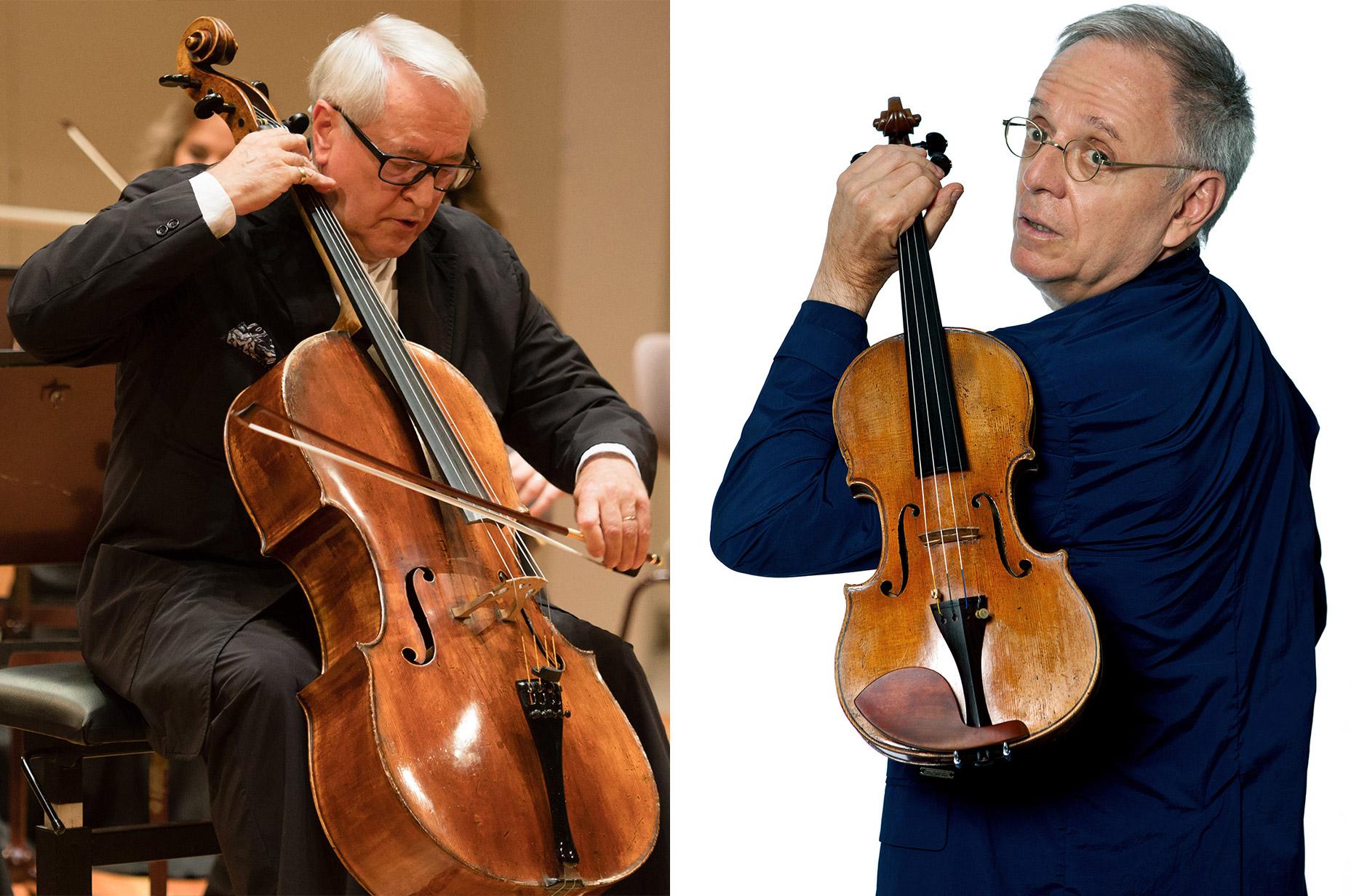 David Geringas • Cello & Boris Garlitsky • Violine - Kammermusikabend