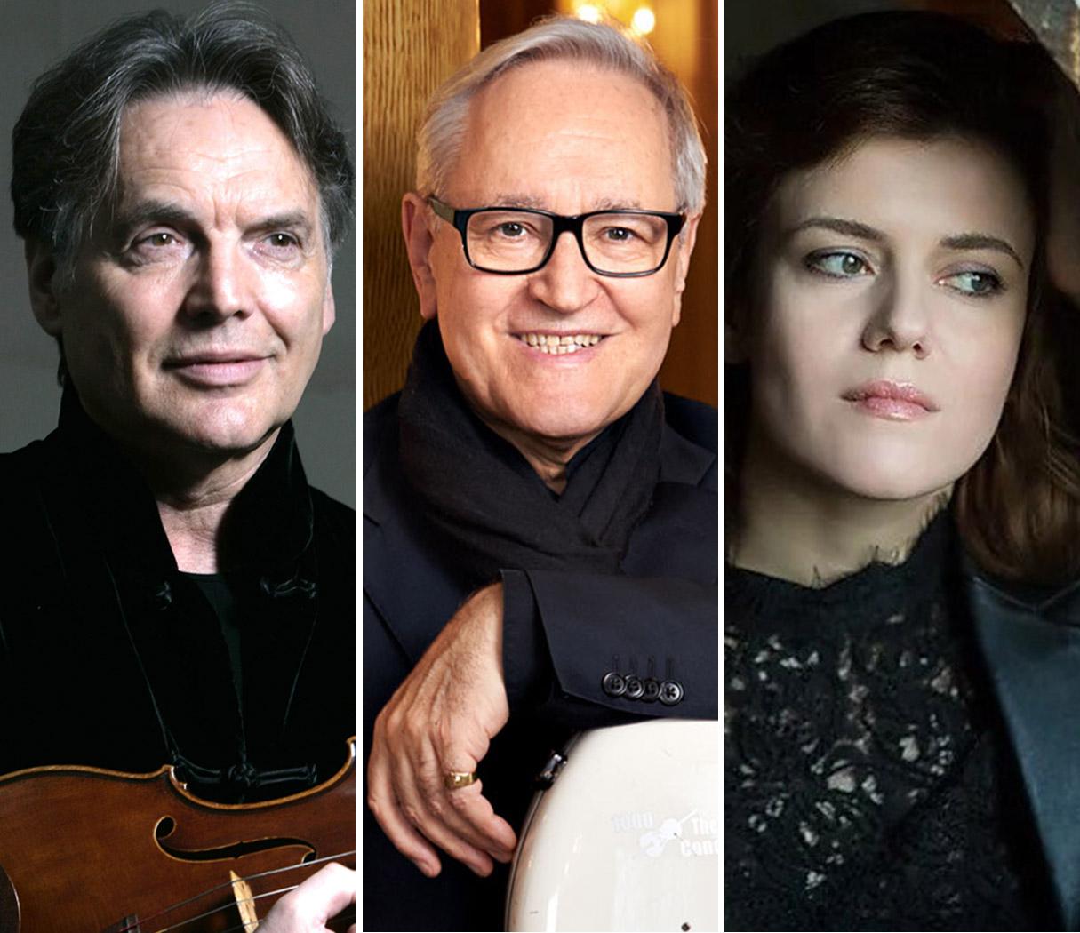 Wilfried Strehle, David Geringas, Zarina Shimanskaya - Trioabend mit Werken von Brahms & Beethoven